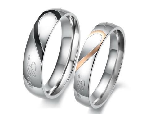 Парные кольца с узором