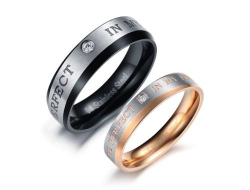 Парные кольца из нержавеющей стали
