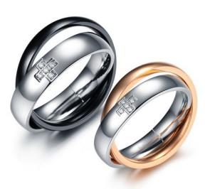 Парные кольца для влюблённых