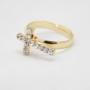 Позолоченное кольцо