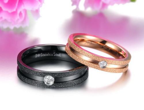 Парные кольца из ювелирной стали