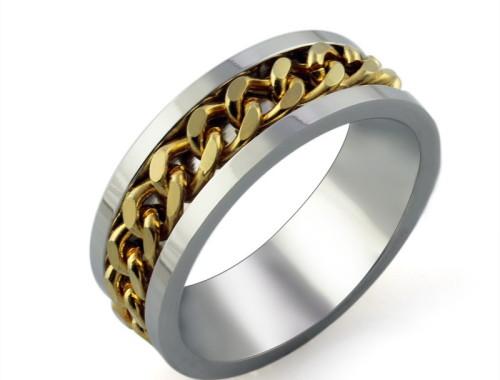 Купить мужское кольцо из нержавеющей стали в Минске