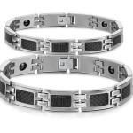 Мужской и женский магнитные браслеты
