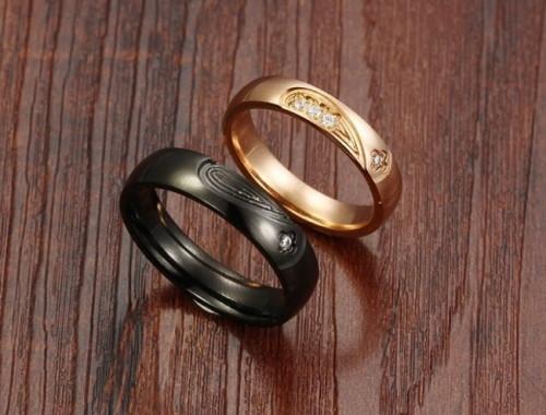 Купить парные кольца со вставками в Минске