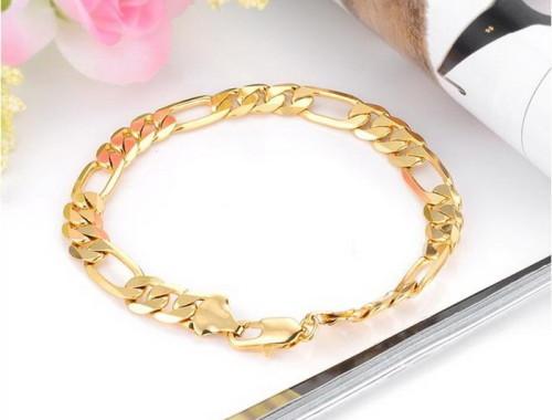 Купить мужской позолоченный браслет в Минске