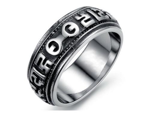 Купить мужское кольцо из стали в Минске