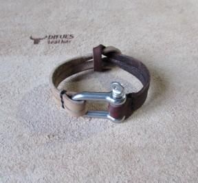 Купить женский браслет HandMade из натуральной кожи в Минске