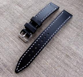 Кожаный ремешок для часов (ширина 20 мм.)