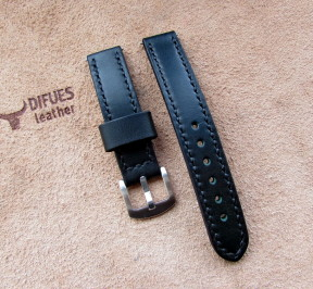 Купить кожаный ремешок для часов 18 мм. в Минске