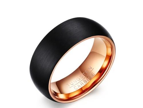 позолоченное кольцо из карбида вольфрама