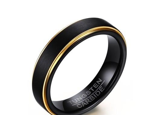мужское кольцо из карбида вольфрама