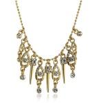 Ожерелье с кристаллами Сваровски