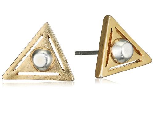 треугольные серьги Pilgrim