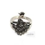 Женское кольцо Павлин