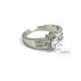 женское кольцо со Сваровски