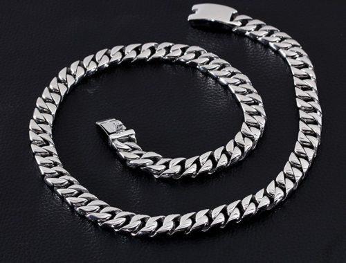 Массивная мужская цепь на шею