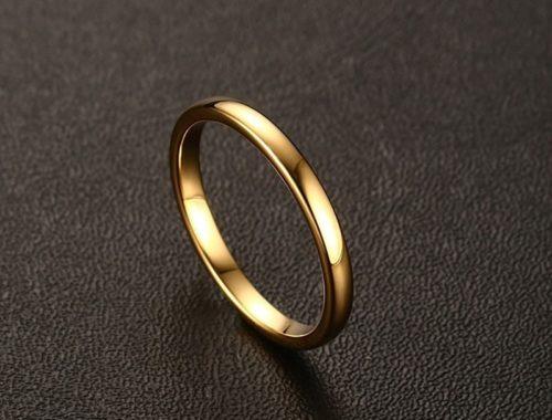Обручальные кольца из карбида вольфрама
