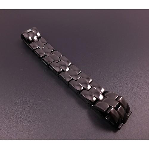 Чёрный магнитный браслет