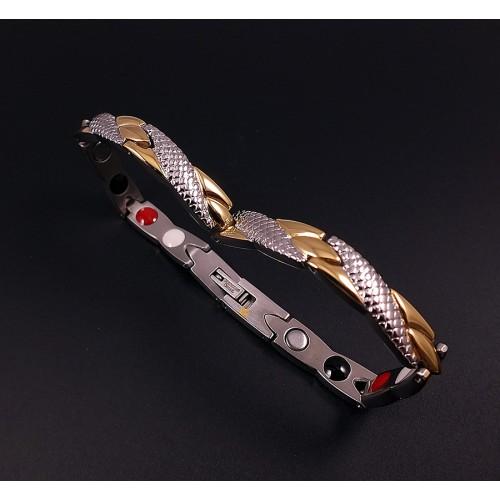 Женский лечебный браслет с магнитами