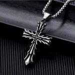 Стальной нержавеющий крест