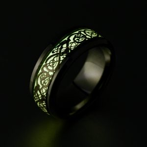 Светящееся кольцо в темноте