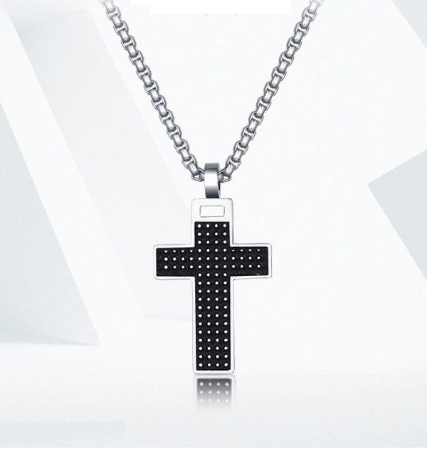 Маленький крестик из стали
