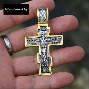Православный крест из стали